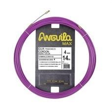 ANGUILA 65040014 Pasacables ANGUILA MAX cordón acero nylon 14m lila