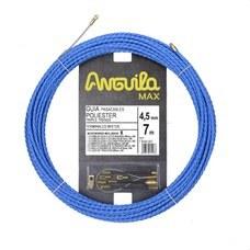 ANGUILA 75045007 Trenza triple poliéster ANGUILA MAX diámetro 4,5mm 7m con nuevos terminales diámetro 5mm fi