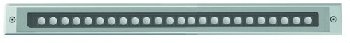 Empotrable PASO IP67 LED 33W 3600lm 3K ángulo 18° gris