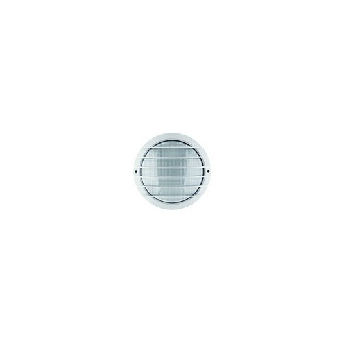 Luminaria LASER aluminio difusor cristal rejilla gris