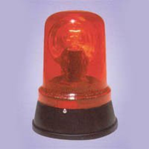 Luz rotativa GIRO LAMPS filamento 230V corriente alterna rojo