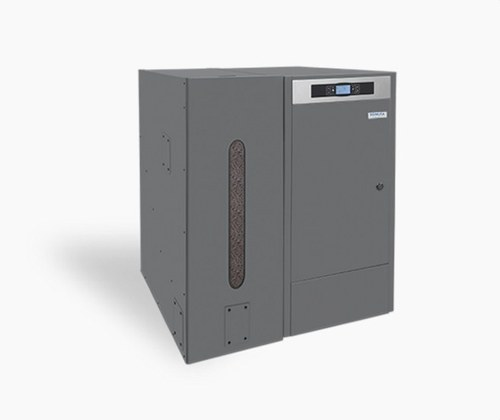 Caldera de biomasa BIOCLASS HM43+DR 42,7Kw clase de eficiencia energética A+