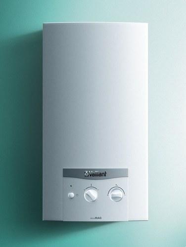 Calentador atmoMAG ES/PT 14-0/1-XI de gas natural interior 14l con clase de eficiencia energética A/L