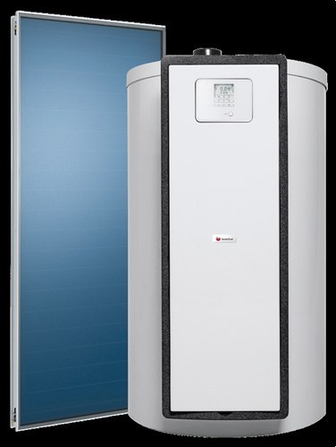 Pack solar con drenaje automático HELIOSET DB 250 F acumulador 250 litros con 2 captadores verticales clase de eficiencia energética B