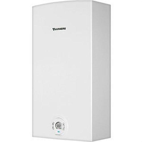 Calentador agua termostato WTD14KG 14 litros/minuto gas natural clase de eficiencia energética A/L