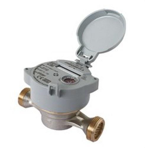 Contador de agua caliente S110 DN15 rosca 3/4-3/4 con tapa