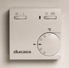 DUCASA 0.420.264 TERMOSTATO AMBIENTE RTR-E 6181 2 INT.