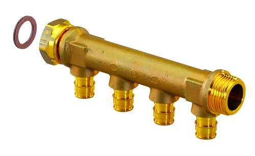 Colector racor móvil 3/4 salida 16x3 serie 5