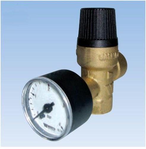 Válvula de seguridad MSM/E-OM30 3bar 1/2 con toma