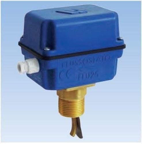 Interruptor de flujo 1 para tuberías comprendidas entre DN1 y DN8 con cuerpo en plástico IP64