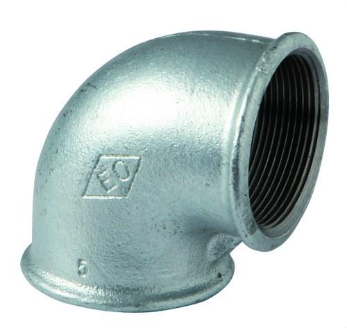 Codo 90° figura 90 H-H 1/4 galvanizado