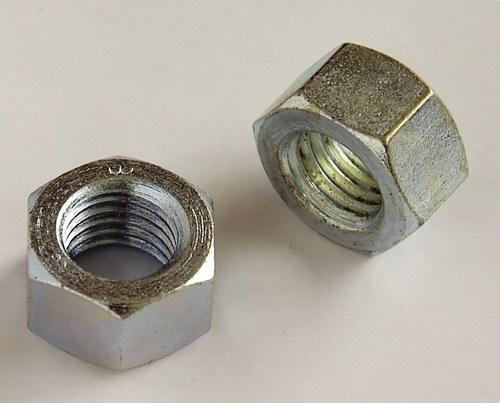 Tuerca hexagonal DIN934 M12 zincado