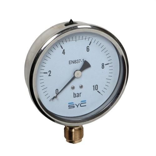 Manómetro con glicerina SYC440 0-4Bar