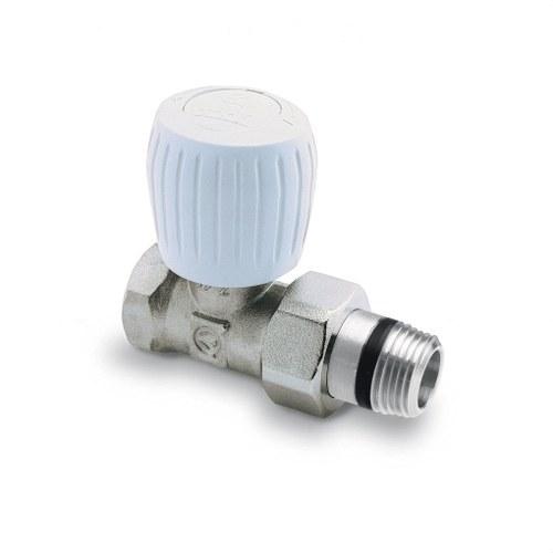 Válvula radiador recta simple reglaje 3/4 roscar