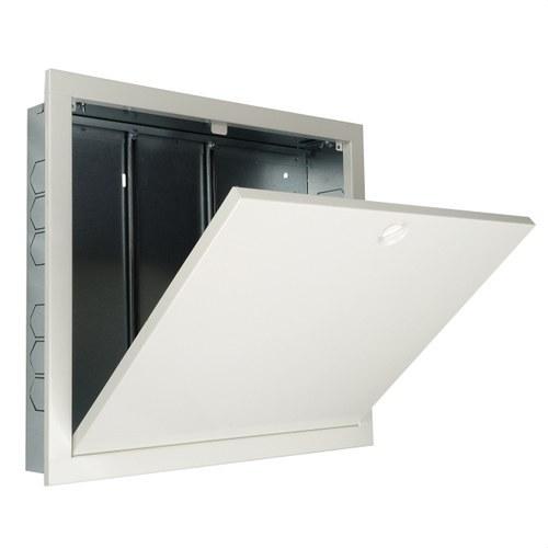 Armario marco metálico 840x510mm blanco acero galvanizado
