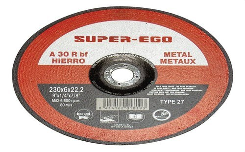 Disco SUPER-CUT 125x1x22 extra plano