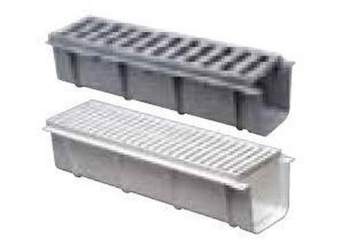 CANALETAS CON REJILLA PVC 520x170 BLANCO
