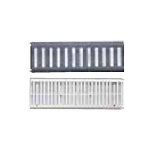 REJILLA CON ACERO PVC 520x170 BLANCO