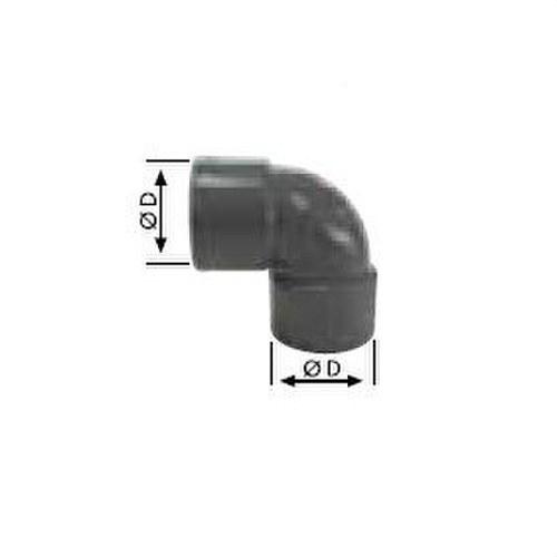 CODO HEMBRA-HEMBRA CHH-25 DIAMETRO 200 87º