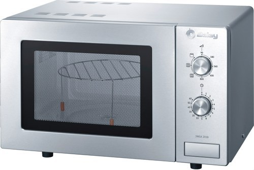 MICROONDAS 3WGX-2018 CON GRILL INOXIDABLE