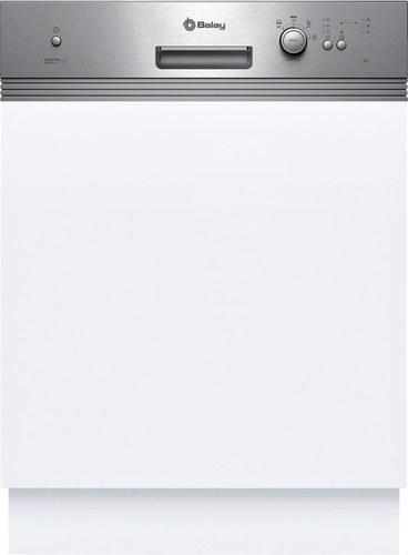 LAVAVAJILLAS INTEGRABLE 60cm 3VI300XP ACERO CLASE DE EFICIENCIA ENERGETICA A+