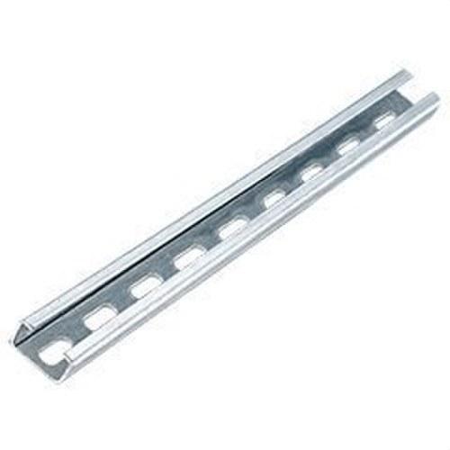 Perfil perforado 23x11 plástico 1000mm espesor 2mm
