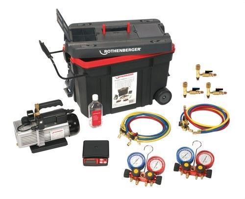 Equipo refrigerador Roccady-120 manómetro analógico