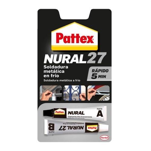 Soldador reparador frío PATTEX Nural 27 22ml