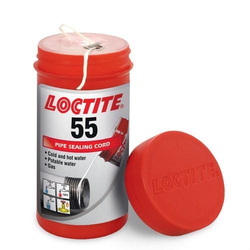 Hilo sellador tubería LOCTITE 55 24x150m