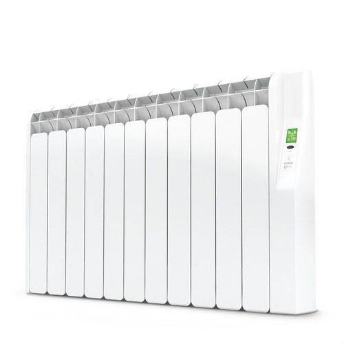 Radiador eléctrico digital KYROS 11 elementos 1210W blanco de bajo consumo