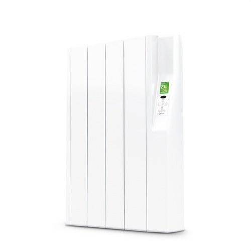Radiador eléctrico digital SYGMA par 4 elementos 440W blanco de bajo consumo