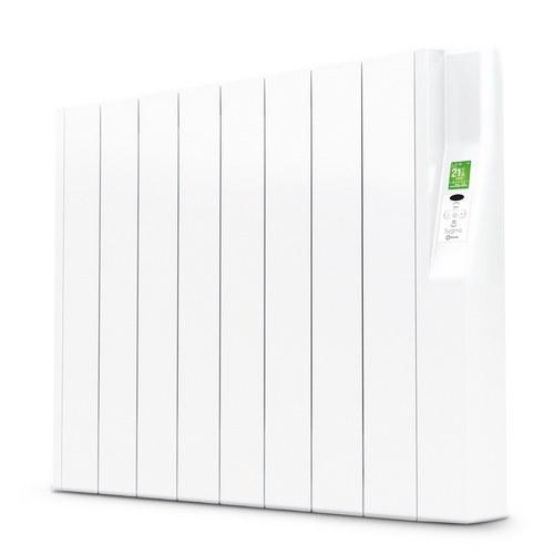 Radiador eléctrico digital SYGMA par 8 elementos 880W blanco de bajo consumo