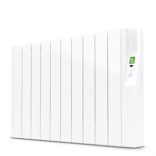 Radiador eléctrico digital SYGMA par 10 elementos 1100W blanco de bajo consumo