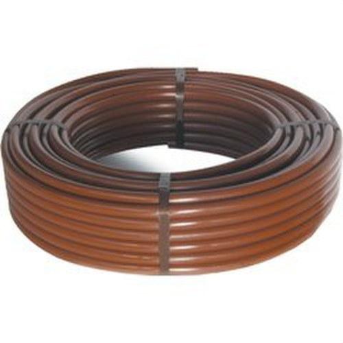 Tubo gotero URBAGREEN diámetro 16 marrón (bobina 100m)