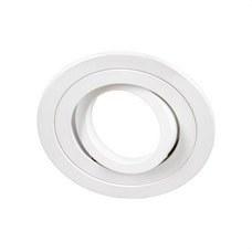 CONALUX 4139/1-01 Downlight empotrable 4139/1 redondo basculante 50W blanco