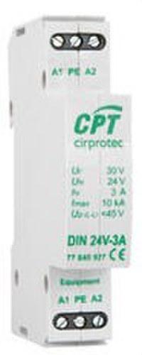 Protector fuente alimentación din/IPAR/10kA/24V/3A