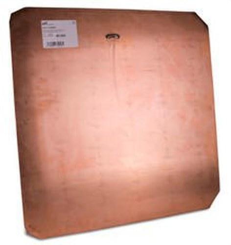 Placa toma tierra cobre 500x500x2mm
