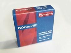 PLYMOUTH 5088 Cinta adhesiva de PVC NÚÑEZ-12 20x19x0,15 gris para aplicaciones eléctricas