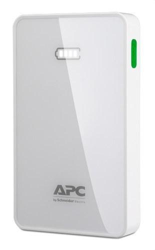 Batería móvil 5000mAh LI-PO blanco