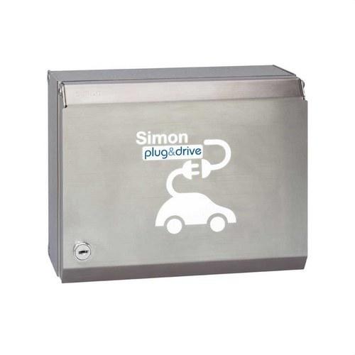 Caja recarga 2 schuko llaves/combinado 16A