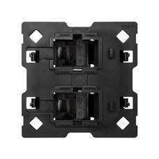 SIMON 10000002-039 Adaptador Simon 100 para 2 conectores RJ45 2 módulos