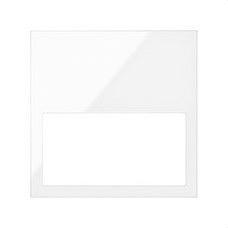 SIMON 10001610-130 Marco mínimo Simon 100 con 1 elemento blanco