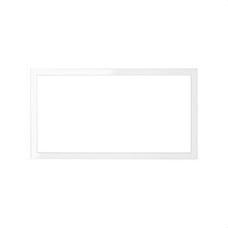 SIMON 10000620-130 Marco Simon 100 con 2 elementos blanco