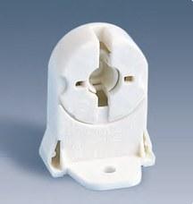 SIMON 55566-31 Portalámparas fluorescente con fijación tornillo