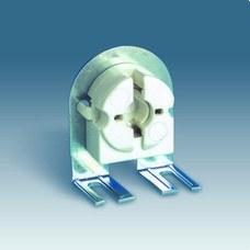 SIMON 55572-31 Portalámparas fluorescente con soporte metálico