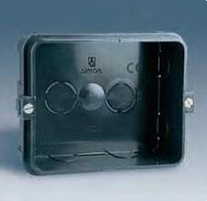 SIMON 48720-35 Caja empotrar 2 elementos referencias 48453/48473