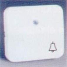 SIMON 73015-32 TECLA C/CAMPANA P/LUMINOSO S.73 NEGRO