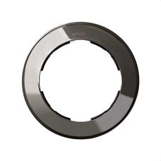 SIMON 88610-35 Placa Simon 88 con 1 elemento diámetro 100mm en acero
