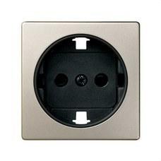 SIMON 82041-34 Tapa enchufe SIMON 82 2P+TT lateral+seguridad cava