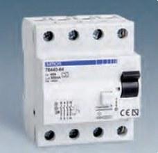 SIMON 78240-63 Interruptor diferencial 40A 2P 300mA Clase corriente alterna